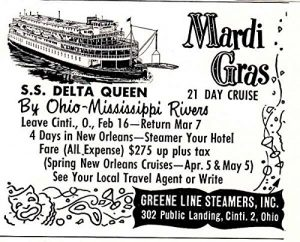Greene Line Steamers Poster 1951