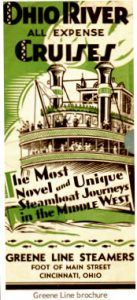 Green Line Steamers brochure.